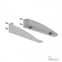 Suporte Multiuso para Micro-Ondas e Forno Elétrico - F DECOR - Prata